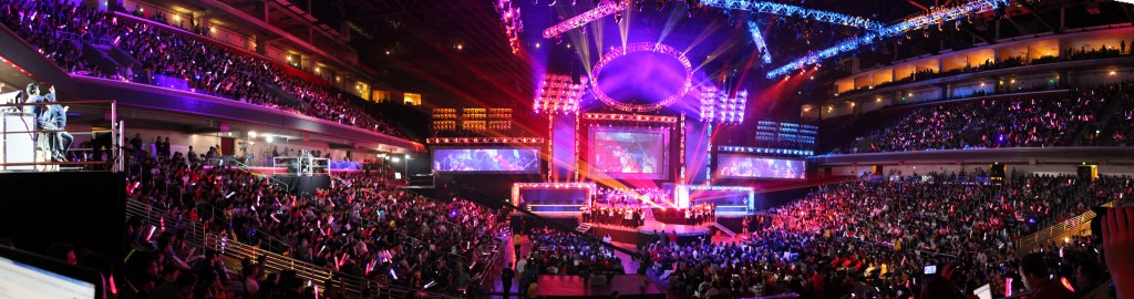 League of Legends World Championship Finale. Quelle: Flickr Nutzer: artubr.