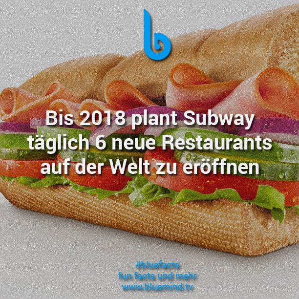 Subway Fakt 1
