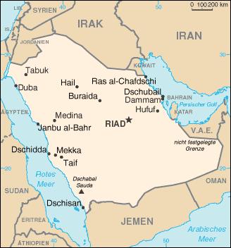 Saudi Arabien und Jemen