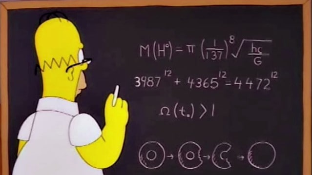 Die Simpsons und die Mathematik in The Wizards of Evergreen Terrace
