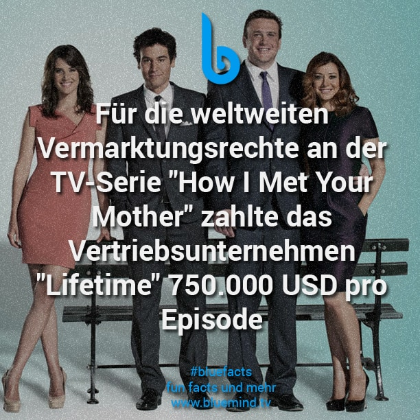 How I Met Your Mother Fakt 2