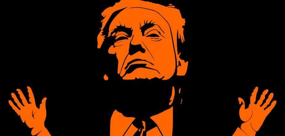 Donald Trump, die Karikatur eines Kandidaten