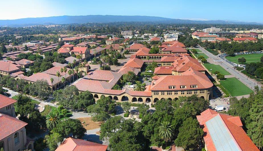 Der Campus von Stanford, hier lehrte Joan Ginther